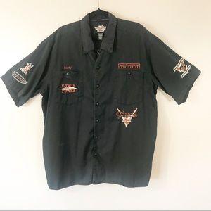 Harley-Davidson 2XL Mechanics Button Down Shirt